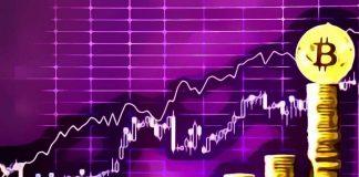 Crecimiento en la criptobolsa Bitcoin a 3800 USD y altcoins en aumento