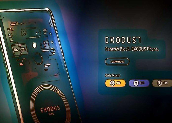 HTC anunció un nodo completo de Bitcoin en su smartphone Exodus 1S