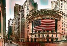 Mercado de Valores de EEUU aumenta y el Bitcoin se ancla en USD 7,800
